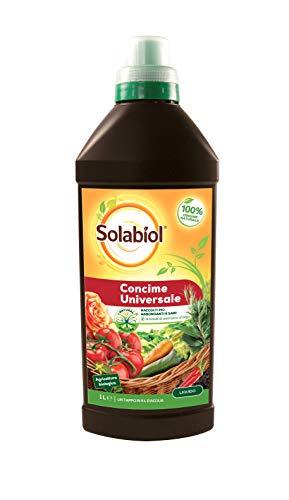 Solabiol Concime Liquido Biologico Universale, 1 litro