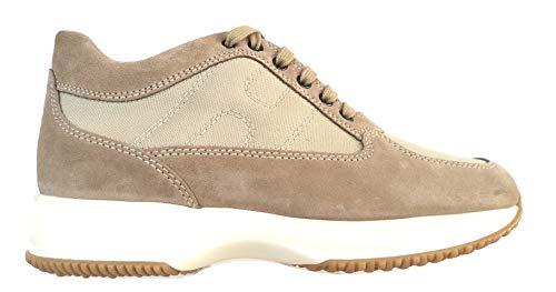 Hogan Scarpe Uomo Sneaker Interactive HXM00N00E108O6C609 Beige (Numeric_39_Point_5)