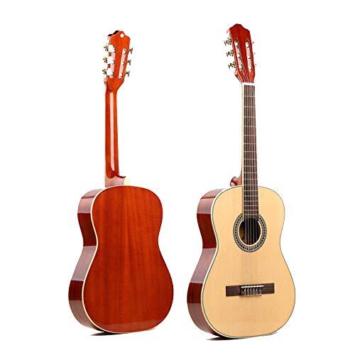 North King Guitarra acústica 46 pulgadas Spruce Sapele clásica para adultos instrumentos musicales