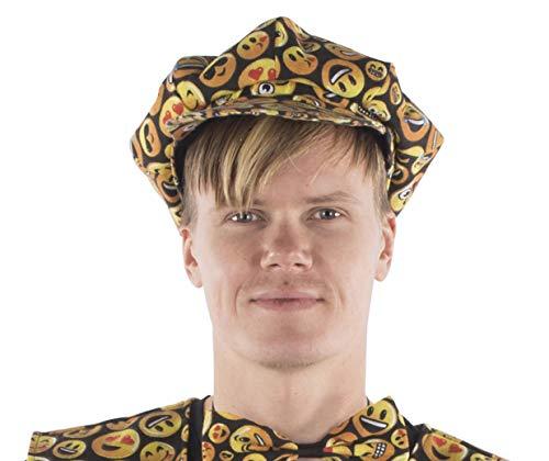 Dress Up America Jungen Emoji Smiley Gesicht gedruckt Kappe für Erwachsene Hut, Mehrfarbig, Einheitsgröße
