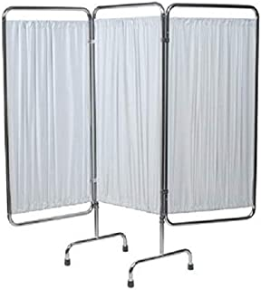 Grafco 4297W Folding Privacy Screen, 3 Section