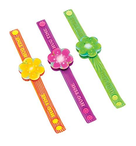 Joy Toy 65152 - Pulsera de Trols con Flor luminiscente, Tarjeta Individual de Respaldo (una Unidad)
