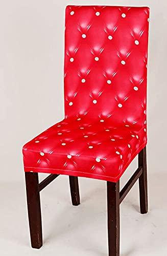 Stretch Chair Schonbezug Abnehmbare Waschbare Sitzbezüge 2/4/6-Pack Modern Fleece Stoff Stuhlbezug Esszimmer Stuhl Protector Universal Fitting Für Hotel Hochzeitszeremonie Küche,A-2PCS