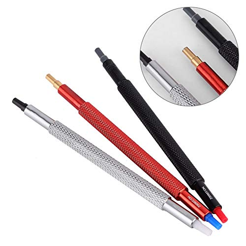 Alucy 3pcs Watch Hand Pressers, Wristwatch Repair Tool Pusher Fitting Set, Watch Repairing Tool Kit for Watchmakers Watch Worker