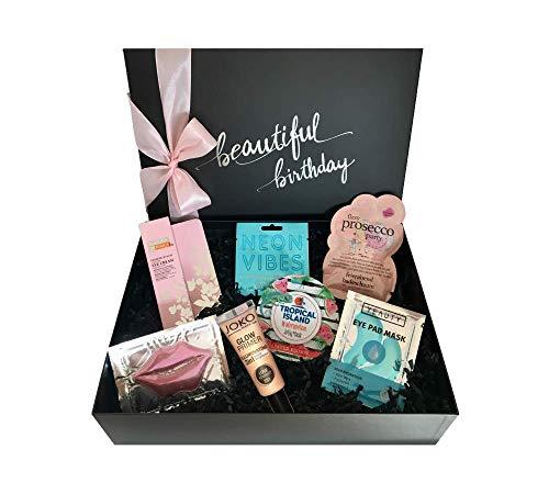"""birthday beautybox """"Glam & Glossy"""" - Luxus-Beauty Box zum Geburtstag für Frauen - Geschenk für Frauen zum Geburtstag"""