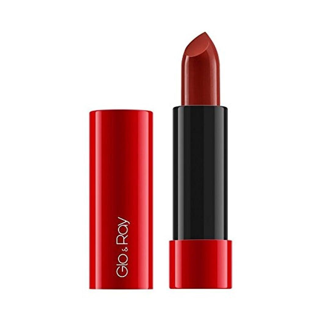 物語フットボール助言&謎の光線ラクリーミーマットリップカラー640 x4 - Glo & Ray La Amo Creamy Matte Lip Colour Mysterious 640 (Pack of 4) [並行輸入品]