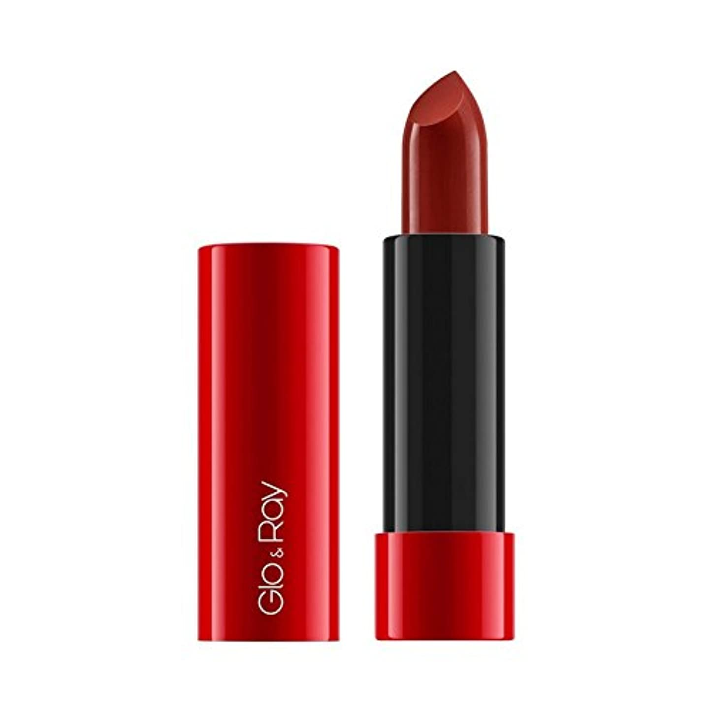 重力悪因子ブルジョン&謎の光線ラクリーミーマットリップカラー640 x4 - Glo & Ray La Amo Creamy Matte Lip Colour Mysterious 640 (Pack of 4) [並行輸入品]