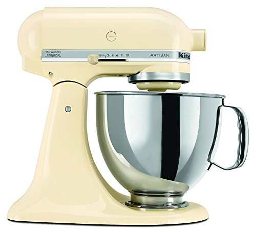 KitchenAid RRK150MY  5 Qt. Artisan Series - Majestic Yellow (Renewed)