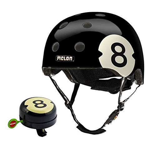 Melon Fahrradhelm - 8 Ball inklusive passender Klingel (XXS-S)