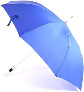 JOYS CLOTHING 二重防風ストレートハンドル傘防風ビジネス合金テンションスプリングロングハンドル傘屋外ゴルフ傘 (Color : Blue)