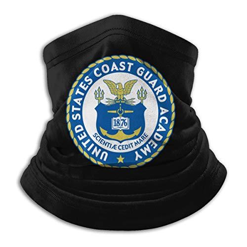 Us Coast Guard O-6 Captain O6 Capt Senior Officer Neck Gaiter Tube Mask Headwear Balaclava Motorcycle Face-Mask Face Scarf Black
