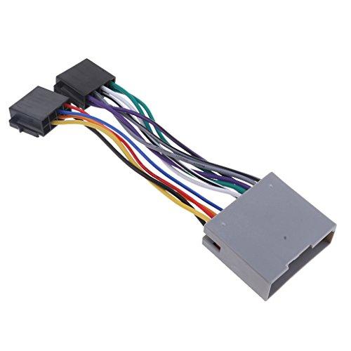 Sharplace Autoradio Stéréo Adaptateur Câblage Pièce de Rechange Voiture, Cable de Audio