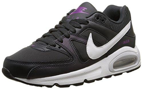 Nike Air MAX Command (GS) - Zapatillas para niña, Color Gris/Blanco/Morado, Talla 36