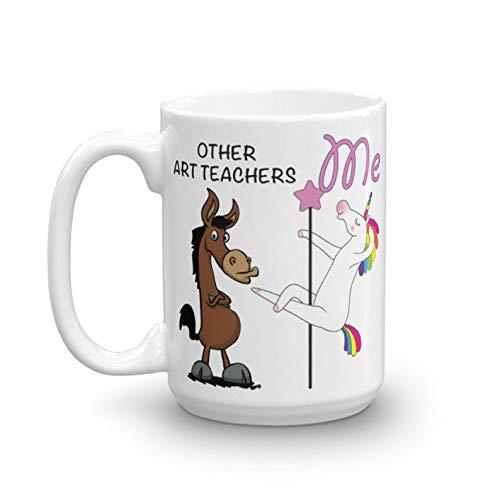 15 Oz Coffee Mug, Funny Art Teacher Gift, Art Teacher Mug, Art Teacher Birthday Gift, Art Teacher 15oz Mug, Art Teacher Gag Gift, Tea Cup