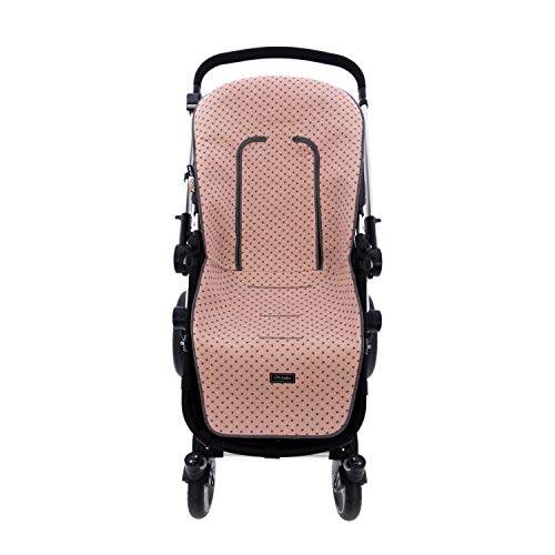 Colchoneta o funda de Paseo para silla Universal Rosy Fuentes en color rosa empolvado 🔥