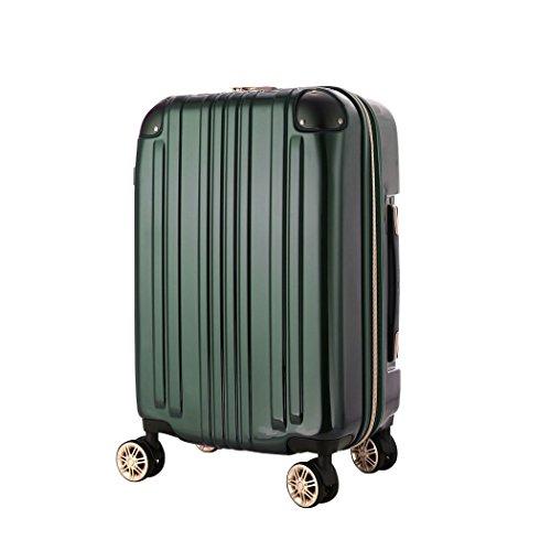 スーツケース キャリーバッグ キャリーバック キャリーケース 小型 S サイズ 3日 4日 5日 容量拡張機能搭載 ダブルキャスター メーカー1年修理保証 LEGEND WALKER レジェンドウォーカー 『5122-55』 グリーン