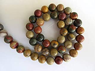 Jewel Beads Natural Beautiful jewellery Multi Agate Large Hole Gemstone beads, 8mm Multi Agate Smooth Round Beads, Drill Size 1mm, 15 Inch StrandCode:- JBB-24556