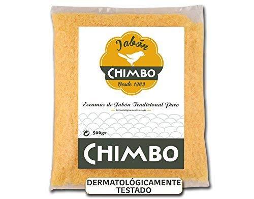 Mario chimbo escamas 500 gr jabón tradicional