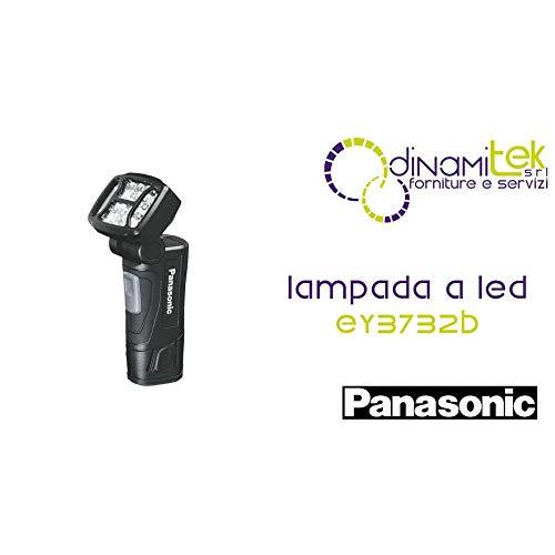 PANASONIC LED-Taschenlampe, batteriebetrieben, Farbe: Schwarz