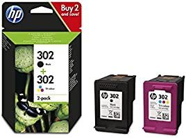 HP 302 Multipack Original Druckerpatronen (für HP Deskjet 1110, 2130, 3630, HP OfficeJet 3830, 4650, 5230, HP ENVY 4520)...