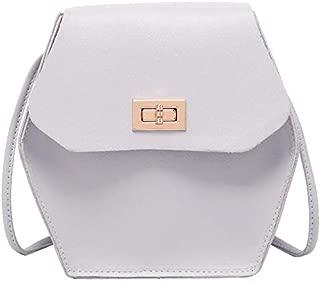TOOGOO Women'S Diamond Covered Buckle Bag Summer New Handbag Crossbody Bag Pink