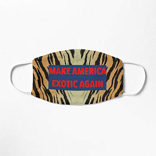 Make America Exotic Again Face Mask for Tiger Lovers Coronavirus Face Masks Mask