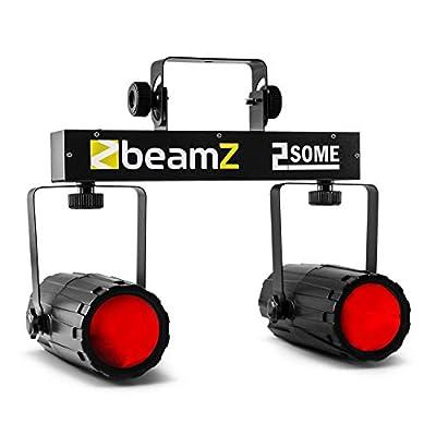 Beamz 2-Some Moonflower Light Set RGBW-LED Sound Activated