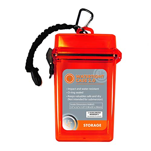 Ultimate Survival Technologies Watertight Case 2.0 (Orange)