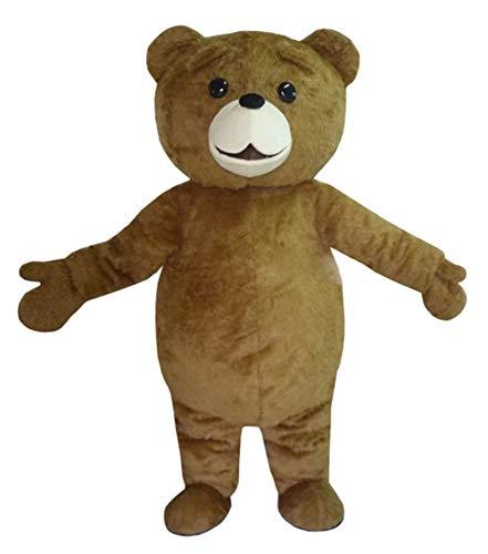 SANEYDER Disfraz de oso de peluche para disfraz de mascota