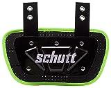 Schutt Sports Football Back-Plate for Shoulder Pads, Neon Green, Varsity