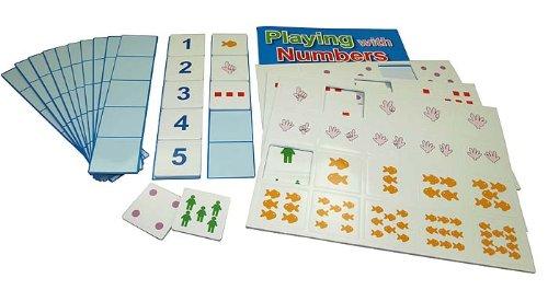 L.A.P. Learn And Play-I Chiffres 66 PCS-magnétique, Couleur variée, 42076