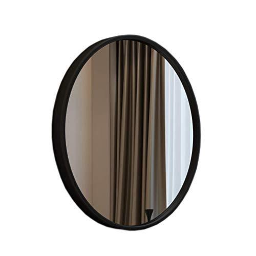 ZHAOJYZ Household Necessities/Nordic decoratieve spiegel / badkamer vanity spiegel / metalen frame spiegel rond / badkamer kunst spiegel rond / slaapkamer Vanity / Silver Mirror