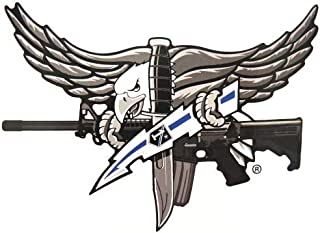 SWAT OPERATOR EAGLE STICKER W/BLUE BOLT