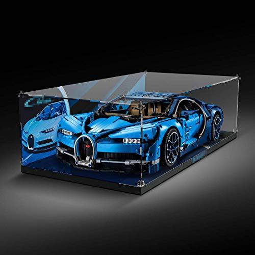 hermoso escaparate acrílico vitrina para Lego 42083 Technic Bugatti Chiron, no un modelo Lego (Mit Muster)