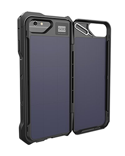 Solar Battery Charger Case for iPhone 6, 6S & 7 with 2500mAh Battery Pack. - http://coolthings.us
