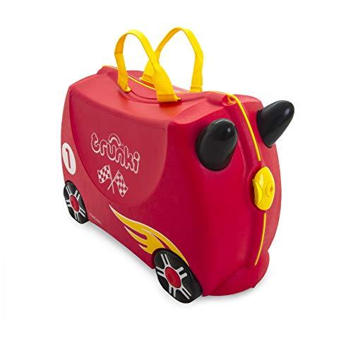 Mala Infantil Trunki - Carro de Corrida - Sua viagem muito mais divertida - cor Vermelho, Trunki, Multicolorido