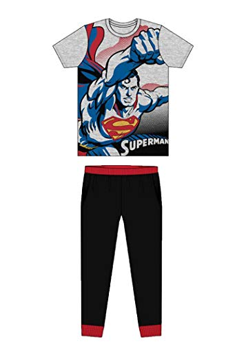 Undercover Lingerie Ltd - Pijama - para hombre Superman Grey/Black M