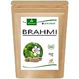 MoriVeda® Brahmi Kapseln l 2 Monatspackung l Gedächtnispflanzen Pulver mit 600mg Kapselgewicht l...