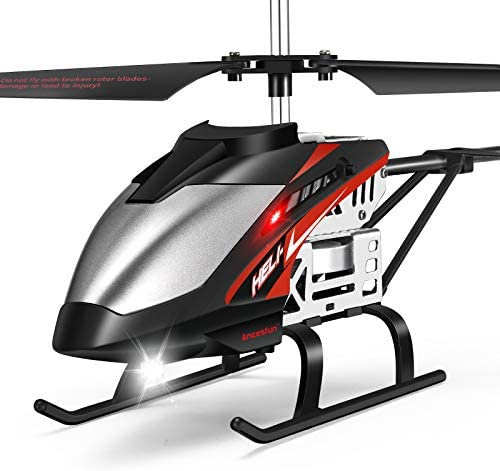 Mini RC Helicopter Remote Control Helicopter with Gyro and LED Lights for Kids and Adults 3 product image
