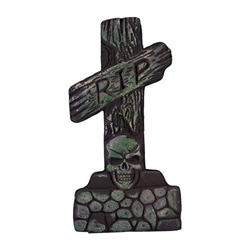 BESPORTBLE Halloween Lúpula de espuma falsa decoração de terror para Halloween ao ar livre casa assombrada adereço (estilo 5) verde