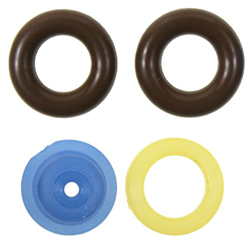 ACDelco 217-3414 Professional Fuel Injector Fuel Feed and Return Pipe O-Ring Kit with Seals with 2 O-Rings