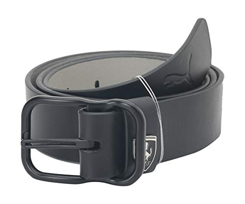 Puma Unisex Leather Belt (5353301_Black)