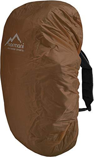 normani wasserdichter Regenueberzug Raincover Regenhülle für Backpacks Rucksack Farbe Coyote Größe 100-130 Liter