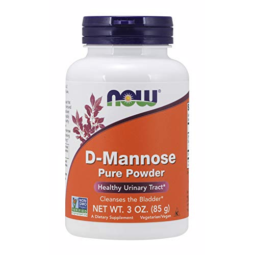 NOW Supplements, D-Mannose Powder, Non-GMO Project Verified, Healthy Urinary Tract*, 3-Ounce