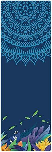 LXFei Yoga Mat Fort Worth Mall Beginner Award-winning store Wide Thin Sweat Non-Slip F Portable