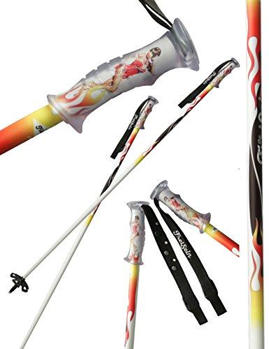 The libre ser Project Designer Hombre Freeride Bastones de esquí Dancing Sky,...