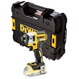 DEWALT DCF887N 18V XR G2 Brushless 3 Speed Impact Driver Bare Unit + Tstak Case, 280 W, Yellow