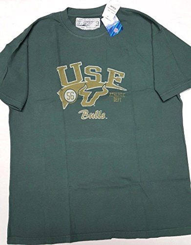 Fourth and One USF Bulls Vintage Look Mens Tee-Shirt Select Size (Large)