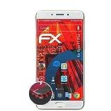 atFolix Schutzfolie kompatibel mit Oppo F1 Plus / R9 Folie, entspiegelnde & Flexible FX Bildschirmschutzfolie (3X)