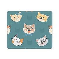 マウスパッド mouse pad かわいい猫 ? ゲーミング デスクマット マウスパッド ラップトップマット テーブルマット FPSゲーム コップ敷き お茶パッド ゴム製裏面 防水 滑り止め 22x18cm 24x20cm 26x21cm 30x25cm